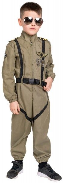 Fallschirmspringer Fallschirmjäger Soldat Kinder Karneval Fasching Kostüm 116-164