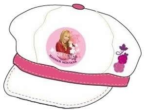 Hannah Montana Cap Kappe Mütze Basecap 53/55 weiss