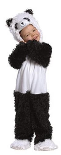 lustiger Panda Kinder Karneval Fasching Kostüm 80-104