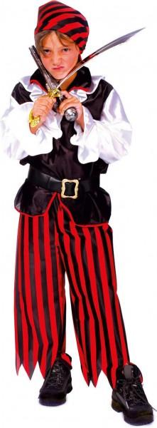 Piratenjunge Jacky Pirat Kinder Karneval Fasching Kostüm 104-152