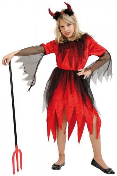 Teufel Rubina Kinder Karneval Fasching Kostüm 128-152