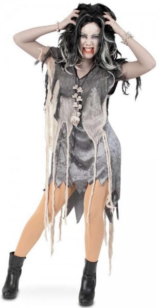 Zombie Horror Halloween Karneval Fasching Kostüm 36-42
