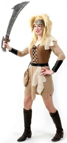 Barbarin Wikinger Piratin Karneval Fasching Kostüm 38-42
