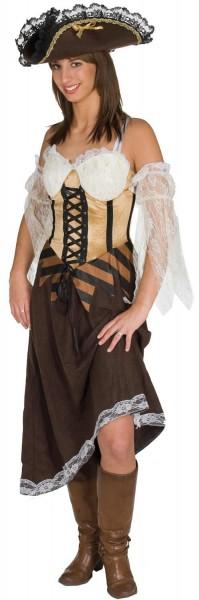 Maiden of Sea Piratin Freibeuterin Pirat Karneval Kostüm 36-42