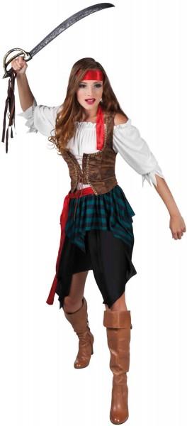 Piratin Storm Freibeuterin Pirat Piraten Karneval Fasching Kostüm 36-42