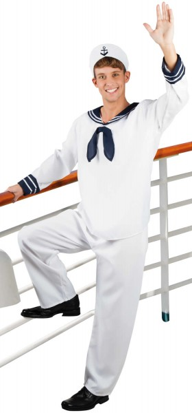 Matrose Seemann Sailor Karneval Fasching Kostüm 48-58
