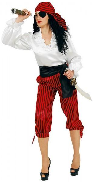 Piratin Korsarin Freibeuterin Seeräuberin Pirat Karneval Fasching Kostüm 36-54