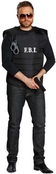 Weste FBI Polizei Polizist Karneval Fasching Kostüm 52/56