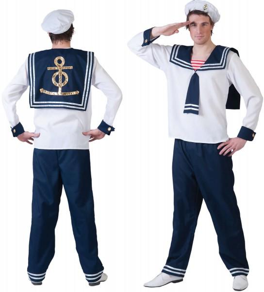 Matrose Seemann Karneval Fasching Kostüm 48-58