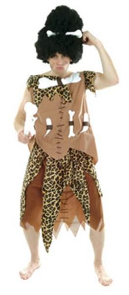 Dschungelschreck Afrikaner Karneval Fasching Kostüm Gr. 52-56