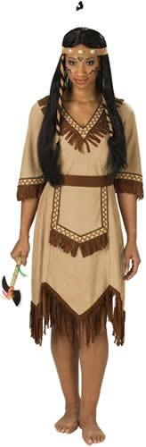 Apachen-Indianerin Indianer Karneval Fasching Kostüm 36-48