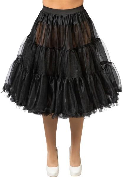 Petticoat Tüll Unterrock Rock'n'Roll 50er Jahre Vintage Karneval Kostüm S-XL