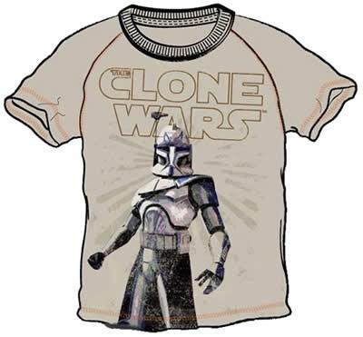 Star Wars CLONE WARS Kinder T-Shirts Gr. 104-116